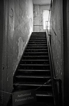 Alcatraz Hospital Stairs