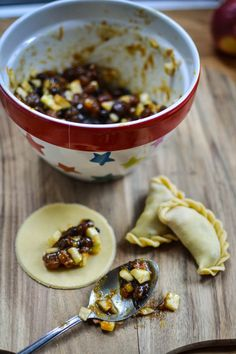 Making Mince Pie Empanadas by Urvashi Roe