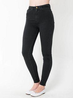 American Apparel - Four-Way Stretch High-Waist Side Zipper Pant