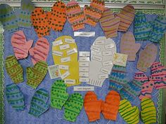 ... about Mittens on Pinterest | The mitten, Jan brett and Sweater mittens