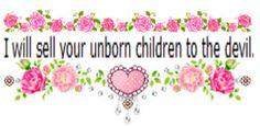 By unborn children... isn't that sperm?