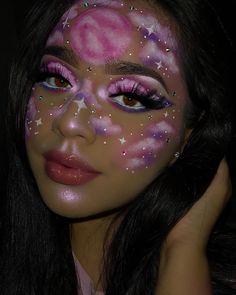 This look is inspired by 's Strawberry Dream pa. Cute Makeup Looks, Makeup Eye Looks, Eye Makeup Art, Crazy Makeup, Glam Makeup, Gorgeous Makeup, Pretty Makeup, Eyeshadow Makeup, Face Makeup