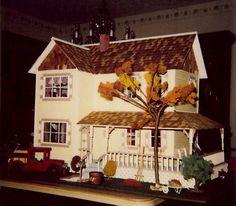 My childhood dollhouse. Duracraft kit.