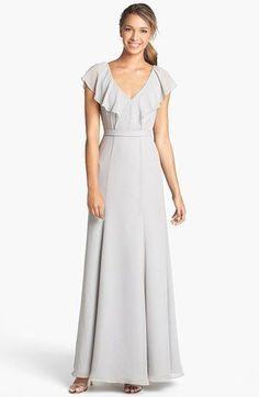 Pretty gray dress!