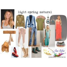 light spring natural by expressingyourtruth on Polyvore featuring Free People, t.la, Balmain, Givenchy, MiH, Latigo, Steve Madden, Full Tilt and Linea Pelle