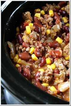 Firehouse Sausage Chili~ all you need is the cornbread!