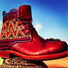 It's all about them Guate Boots! #Teysha