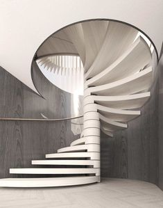 Smart Design Studio is an award winning architecture and interior design practice based in Sydney, Australia. Architecture from the inside out. Spiral Staircase, Staircase Design, Staircase Ideas, White Staircase, Floating Staircase, Stairs Architecture, Modern Architecture, Amazing Architecture, Interior Stairs