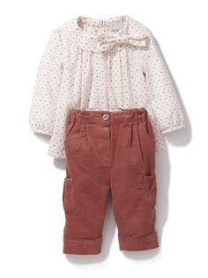 Star print tunic and trouser set