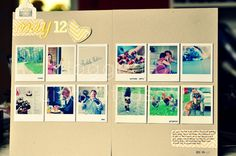 my life - perfectly imperfect: Take Twelve | May - the layout