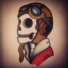 old school tattoo aviator - Recherche Google