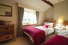 Cosy country cottage vibe at Spring Cottage. A luxury cottage in North Yorkshire