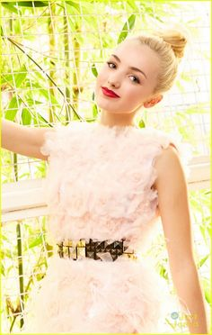 peyton list 2013 photoshoot just jared | Peyton List: Pretty in Pink Photo Shoot