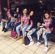 Designer Clothes, Shoes & Bags for Women Go Best Friend, Best Friend Goals, Best Friends, Bff Goals, Squad Goals, All I Ever Wanted, How To Pose, Black Is Beautiful, Girlfriends