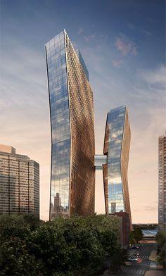 American Copper Buildings West Tower -                  The Skyscraper Center