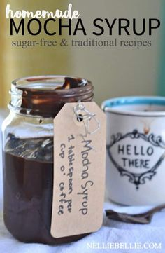 Make your own mocha syrup with only 4 ingredients. And it's ea… Make your own mocha syrup with only 4 ingredients. And it's easy, fast, and delicious! Save yourself some money at the coffee shop! Homemade Mocha, Homemade Syrup, Homemade Cafe, Homemade Baileys, Homemade Smoker, Homemade Ketchup, Triple Sec, How To Make Mocha, Salsa Dulce