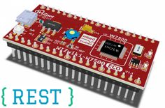 GitHub - hkjung/REST-web-server-WIZwiki-W7500eco-uVision5: Simple REST Web server library for small IoT devices. Users can be made the IoT device for REST-based web services available in this project using C language / WIZwiki-W7500ECO platform board.