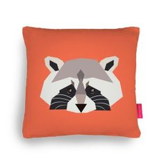 Coussin Racoon - Fleux'