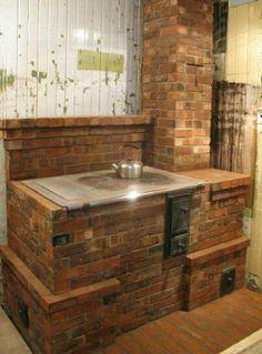 Cucina di mattoni