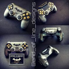 Xbox, Control Playstation, Cool Ps4 Controllers, Custom Consoles, Video Game Rooms, Arkham Knight, Diy Crafts Hacks, Ps4 Games, Cool Inventions