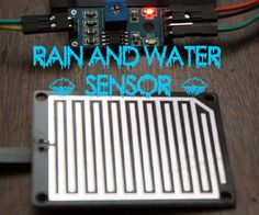 Arduino Modules - Rain Sensor