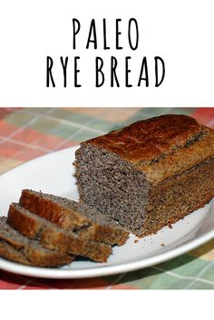 This Paleo Rye Bread recipe is made with almond flour, flax meal, eggs, oil, and caraway seeds. It's gluten-free, easy to make and perfect for sandwiches! We love it with cold cuts and spicy mustard for that New York deli experience.