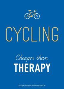 cycling cheaper