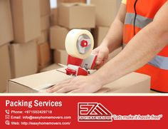 Looking for Packing and Unpacking Experts? We are providing professional packing and moving services at Movers in New York, New Jersey, Florida. Packing Services, Moving Services, House Movers, Packing To Move, Home Goods, Dubai, Packaging, Easy, Wrapping