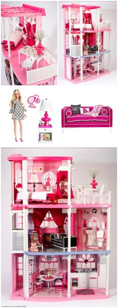 Jonathan Adler One-of-A-Kind Dream Townhouse, with Jonathan Adler Barbie & couch.