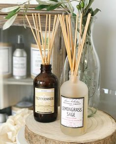 Our reed diffusers have a 3-6 months life span. Translation: if you buy a reed diffuser you don't have to worry about your house smelling nice for 3-6 months. Read more on our blog! Link in bio to shop #southernfireflycandle #nashville #reeddiffuser #shoplocal #shopsmall