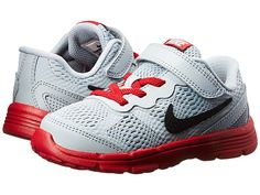 Nike Kids Fusion Run 3 (Infant/Toddler) Wolf Grey/Volt/White/Black - Zappos.com Free Shipping BOTH Ways