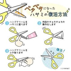 【nanapi】 粘着テープやガムテープを切った後のハサミって、ベタベタしてとても切りにくくなってしまいますよね。そこで、はさみについたベタベタをキレイにする方法をご紹介します。動画で見るやり方STEP1:用意するものはハンドクリームだけ使うものはハンドクリームのみです。S...