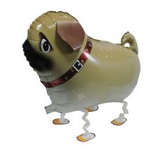 When filled with helium, it looks like these dogs are really walking on a leash! Perfect for birthday parties (including dog birthdays), barbecues, or just to have some fun! Available in 9 different b