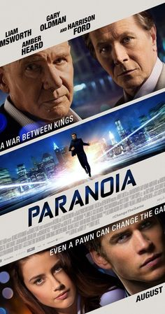 Directed by Robert Luketic.  With Liam Hemsworth, Gary Oldman, Harrison Ford, Amber Heard. An entry-level employee at a powerful corporation finds himself occupying a corner office, but at a dangerous price: he must spy on his boss's old mentor to secure for him a multi-billion dollar advantage.