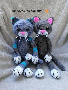 PDF Chat amigurumi Tuto crochet en Francais | Etsy