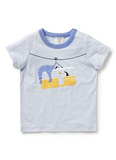6d35a9dca Baby Boys Tops & Tees | Cable Car Applique Tee | Seed Heritage Seed  Heritage,