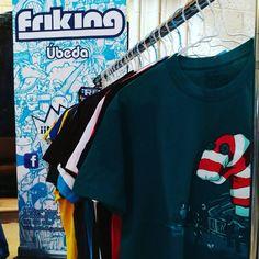 Todos estos diseños de camisetas te están esperando en nuestro stand comercial del Festival Europeo del cómic!!! #FestivalEuropeoCómicÚbeda #FrikingÚbeda #Camisetas #ProductosOficiales #Úbeda #TuTiendaPreferida