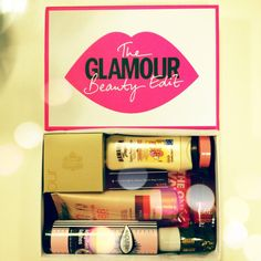 @missjennigirl has already started using the goodies inside of her Glamour Beauty Edit box