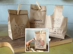 DIY Printed Paper Bags · Home and Garden | CraftGossip.com