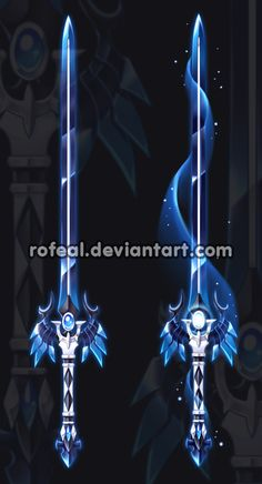 Auction(CLOSED) by Rofeal. on - Cool stuff/draw stuff - Militar Ninja Weapons, Anime Weapons, Fantasy Sword, Fantasy Art, Espada Anime, Arte Fashion, Cool Swords, Sword Design, Weapon Concept Art