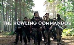 The #Howling Commandos // Captain America