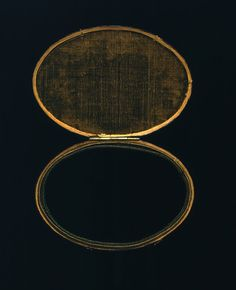 """Stalking the Belle Époque: 11/25/12 - 12/2/12 A Claude Glass is ostensibly a small, blackened mirror which is contained in a box. The device acts as a portable drawing and painting tool which was popular in the late Eighteenth Century with the amateur artists who embarked on international """"sketching tours."""" The device was especially meant for us in rendering landscapes by reflecting a landscape so that it could be copied by the artist."""