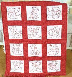 Vintage Embroidery On Pinterest Quilt Blocks