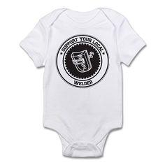 Support Welder Infant Bodysuit