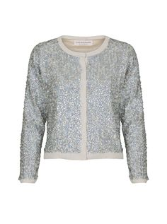 Jardine By Numbers Sequin-embellished Cardigan | Custommade.dk