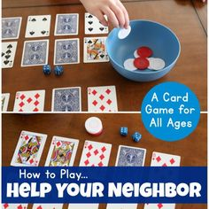 Ages 5-7 Archives - Frugal Fun For Boys and Girls Family Card Games, Fun Card Games, Card Games For Kids, Games For Girls, Kids Cards, Playing Card Games, Dice Games, Activity Games, Fun Activities