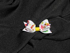 Super Mario Brothers Hair Clip by VioletOrchidBoutique on Etsy, $5.00