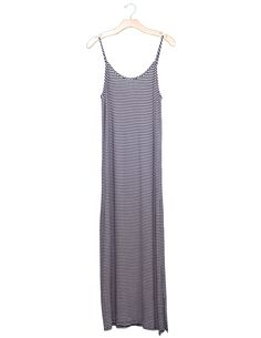 Stripe Maxi Dress   Made in USA   Made in America   Ethical Fashion   Ethical Clothing   Summer Dress   Stripe Dress