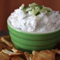 Cucumber and Feta Greek Yogurt Dip Recipe - ZipList