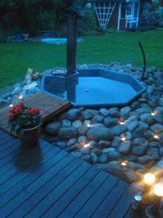 intex pool ute på vintern